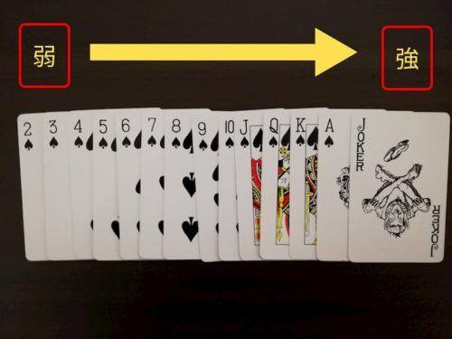 ページワンのカードの強さ